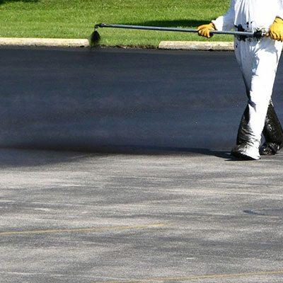 Scellant d'asphalte sous pression
